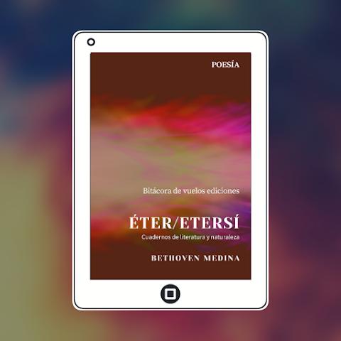 #EPUB #POESÍA Éter/Etersí, de Bethoven Medina
