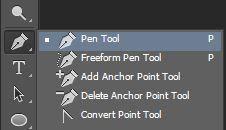 Cara memotong dengan Pen Tool