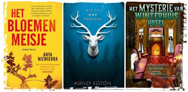 Het bloemenmeisje, Dit is ons verhaal en Het mysterie van Winterhuis Hotel de beste boeken van 2020 door De boekenfabriek