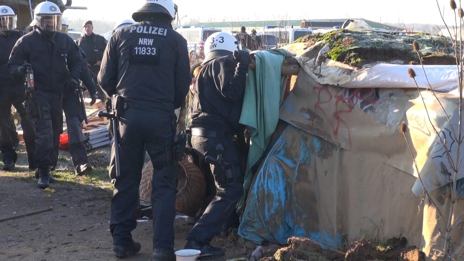Anschlag vereitelt? Polizei sichert Brandsatz bei Pumpstation am Hambacher Forst