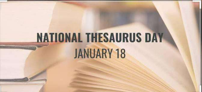 National Thesaurus Day Wishes Unique Image