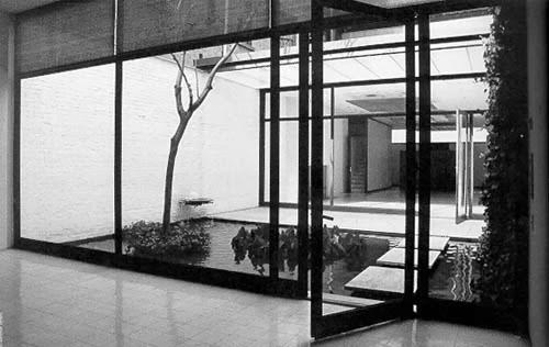 bak Casa de invitados Rockefeller Philip Johnson