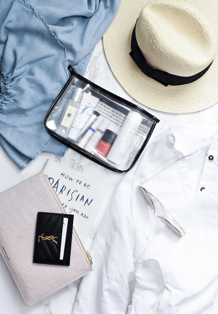 travel makeup essentials, beauty packing