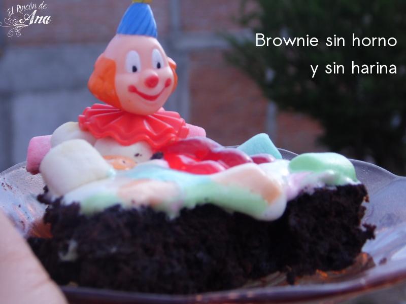 Brownies en la estufa