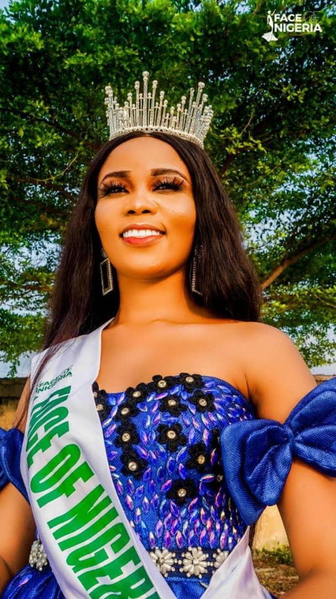 Face of Nigeria: Queen Peace who won the award says make a choice which would pay off better in the long run but with a price to pay