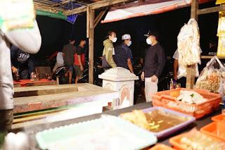 Sasaran lokasi monitoring Bupati ialah Stadion Joyo Kusumo pasar Gembong Tlogowongu