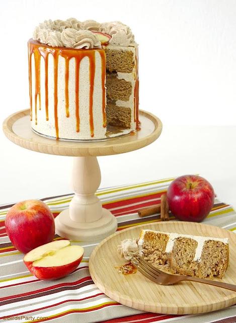 Apple Cinnamon Layer Cake