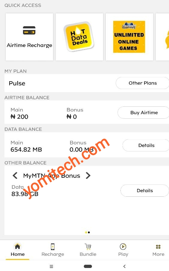 MTN unlimited free browsing cheat 2019. How to accumulate MyMTN App free 500MB data bonus - YomiTech