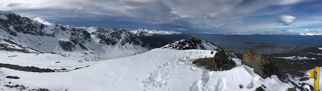 View from Cerro del Medio, Ushuaia, Tierra del Fuego, Argentina