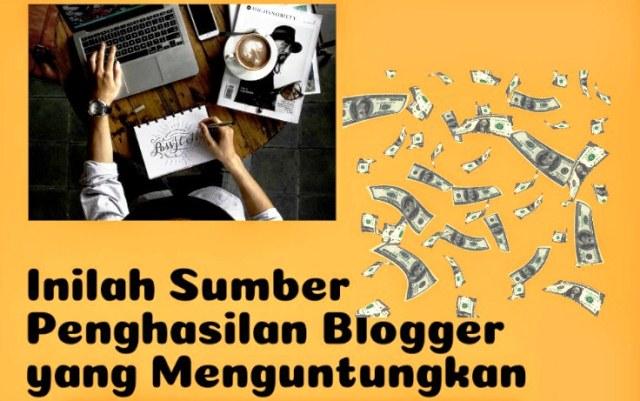 Sumber Penghasilan dari Website atau BLog