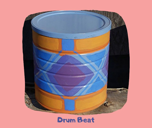 Drum Beat Pot by Minaz Jantz