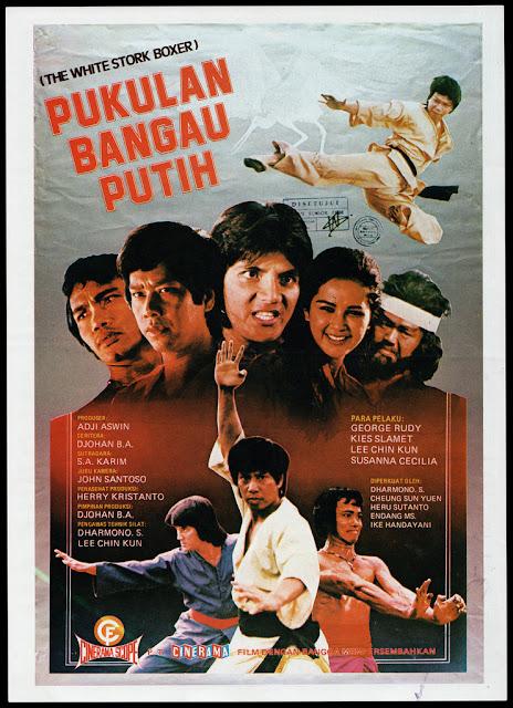 Pukulan Bangau Putih (1977) VCDRip