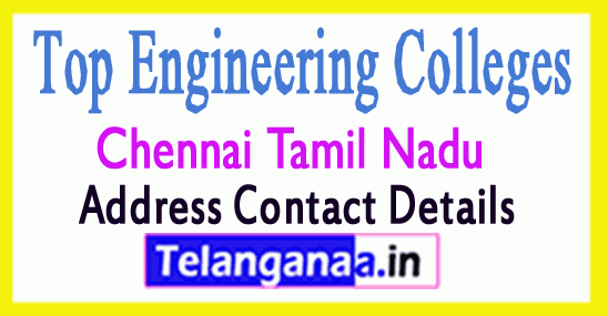 Top Engineering Colleges in Chennai Tamil Nadu