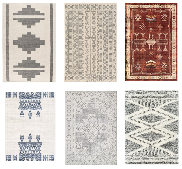 tribal rugs for a boy's room