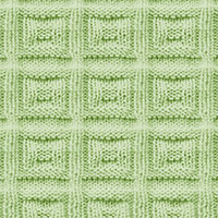 Square Buttons #KnitPurl | Knitting Stitch Patterns.
