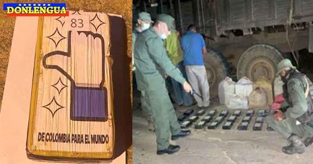 Incautaron 169 kilos de drogas en Píritu identificados con el Like de Facebook