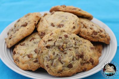 Cookies vanille et pépites de chocolat en vidéo
