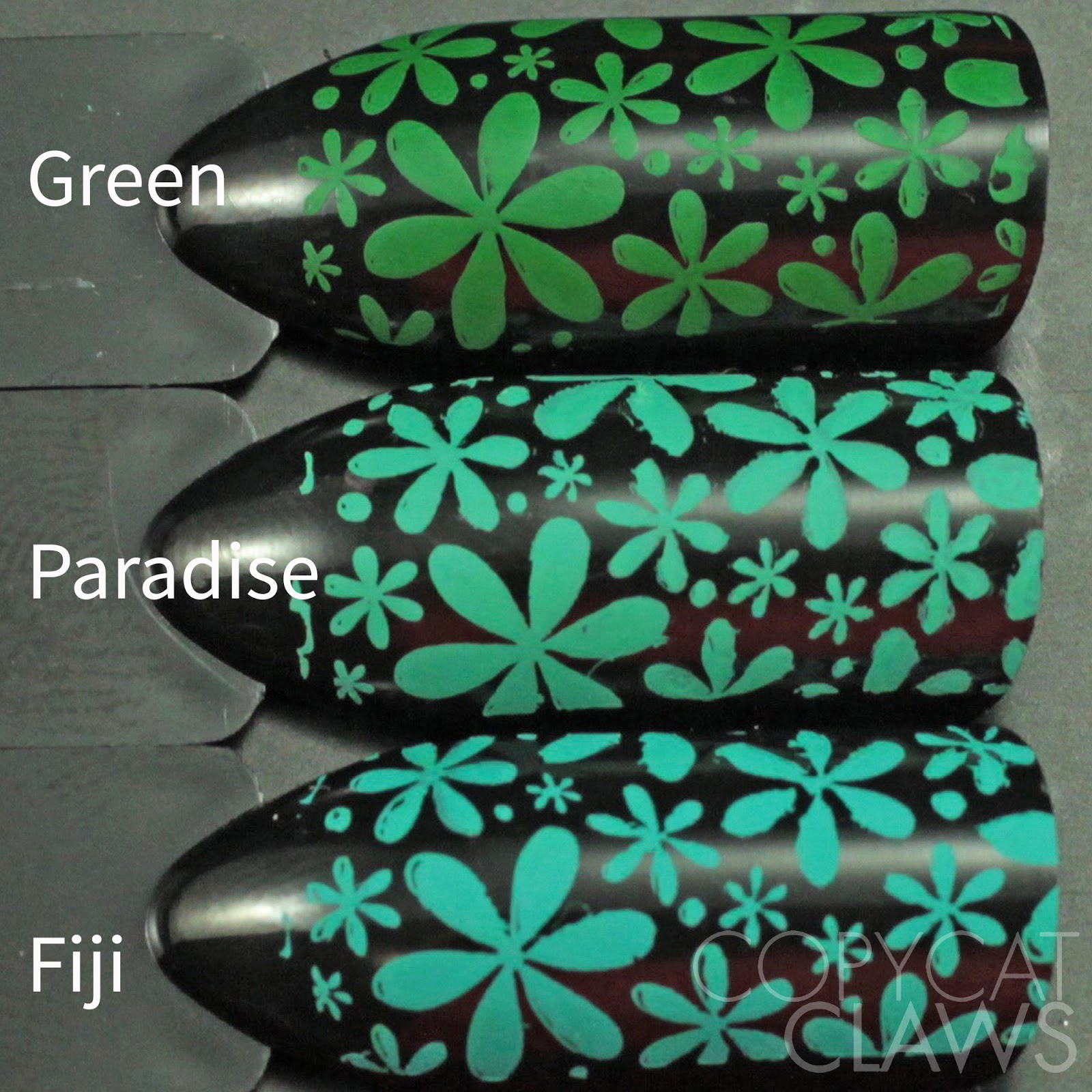 Vistoso Fiji Color De Las Uñas Ideas Ornamento Elaboración ...