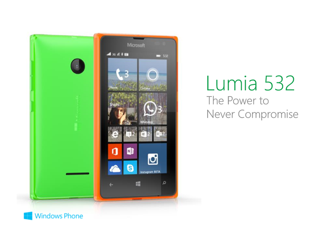 Lumia 532, 4-inch, Snapdragon 200, 1GB Priced At €79 (Php 4,151)