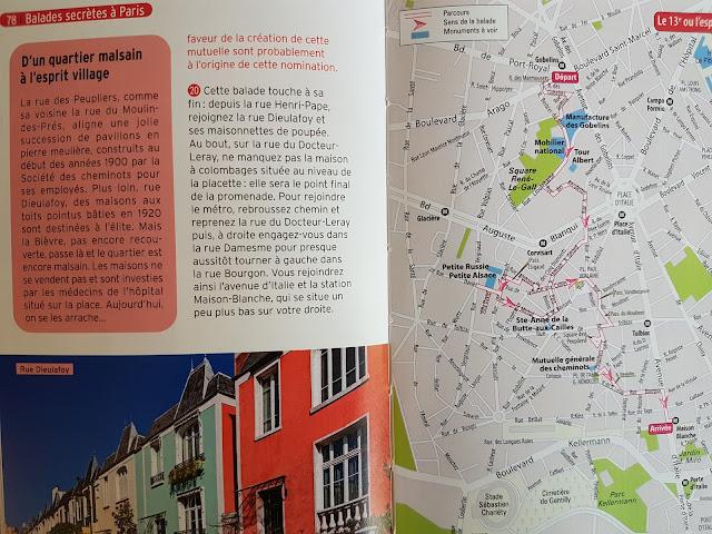 Balades secrètes à Paris de Marjolaine Koch chez Hachette Tourisme