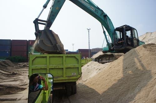 harga pasir bangka 1 truk