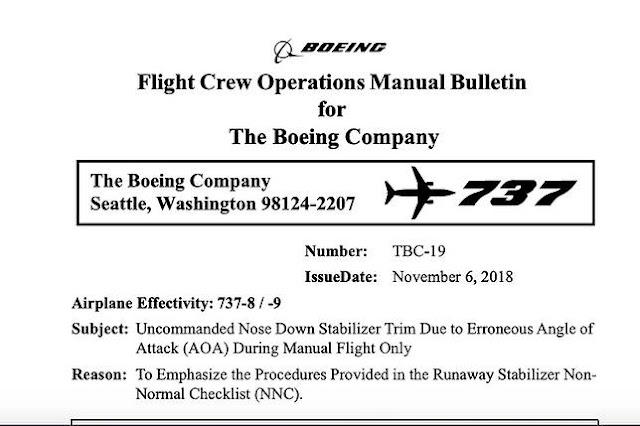 Ini Isi Dokumen Boeing yang Beri Petunjuk Pesawat Lion Air JT 610 Alami Kerusakan