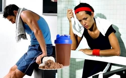 No siempre es bueno tomar tu licuado de proteínas durante tu entrenamiento