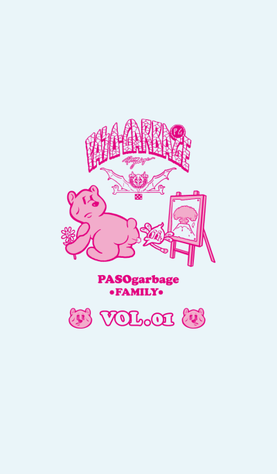 PASOgarbage family VOL.1 (International)