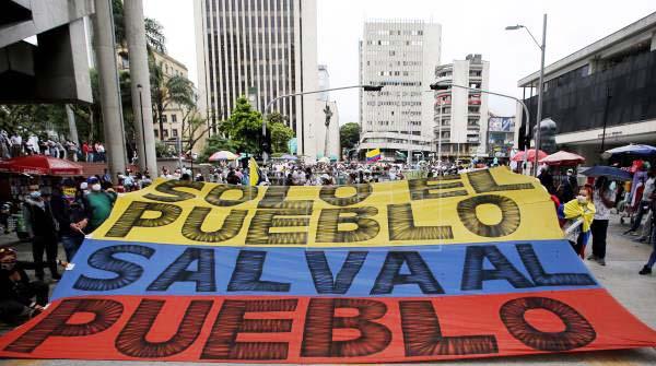 COLOMBIA SE ALISTA PARA NUEVA JORNADA DE PROTESTAS ESTE MARTES