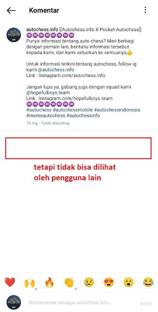 Cara Memblokir Komentar Di Instagram dari Orang Tertentu
