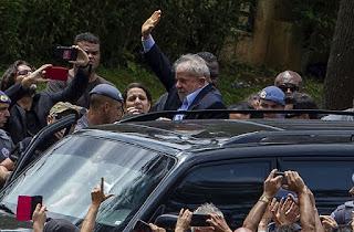 Lula participou do velório de seu neto de 7 anos em São bernardo do Campo