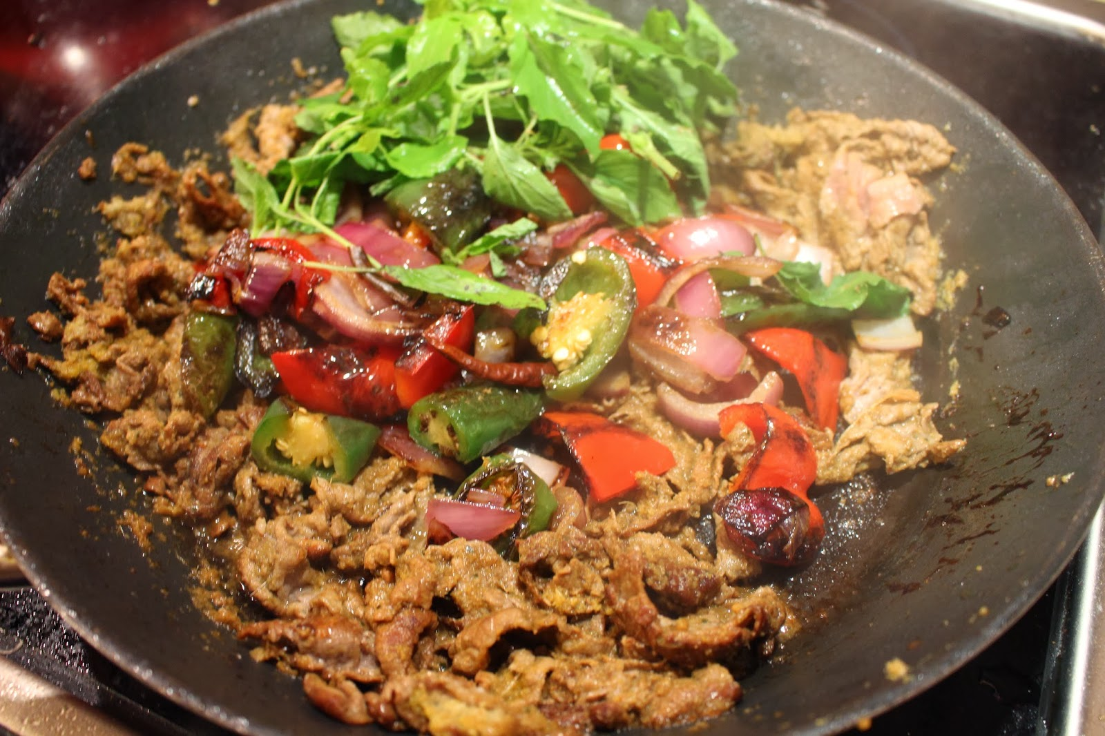 Mami Eggroll Cambodian Cha Kroeung Aka Cambodian Beef
