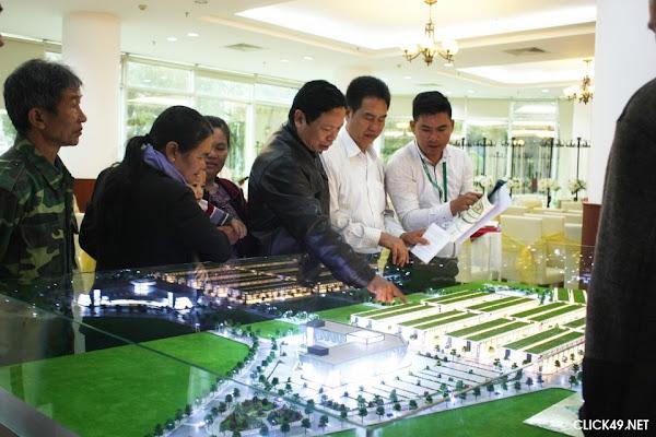nhà đầu tư đổ về tham quan dự án Nam Phương City Bảo Lộc