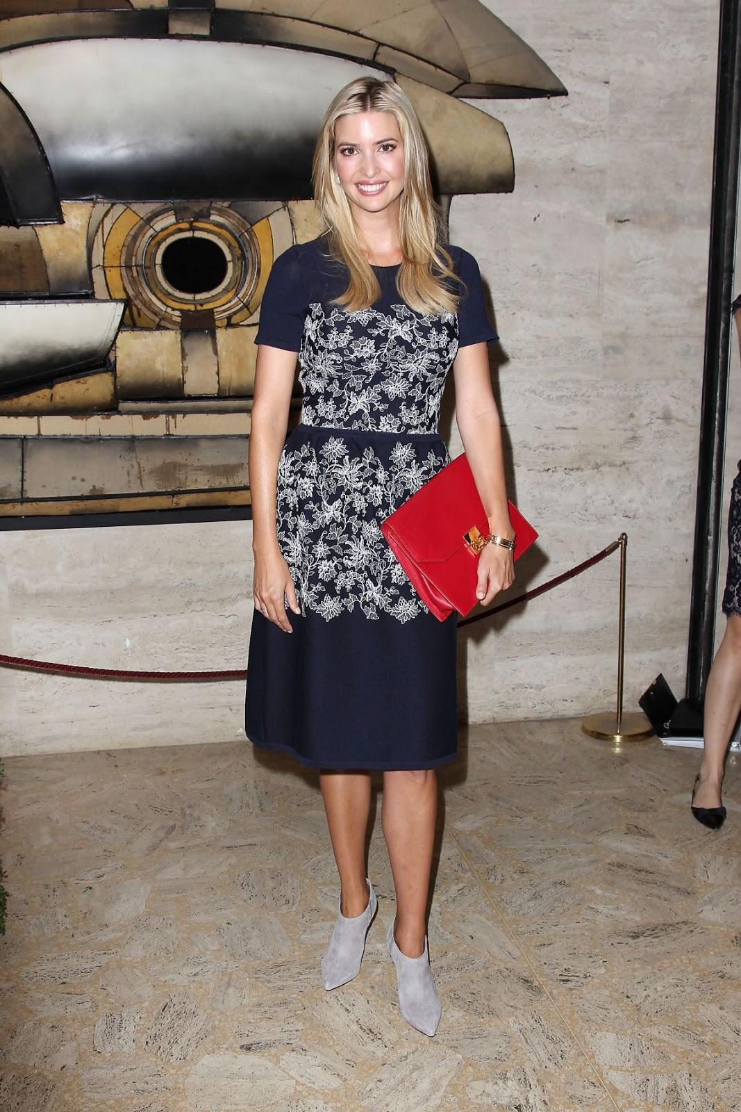 HOT Women Politicians Photos Ivanka Trump At Couture Council Awards In New York
