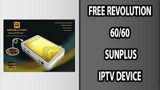 FREE REVOLUTION 60/60 I SUNPLUS IPTV DEVICE