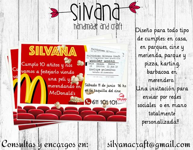 #mcdonalds #unicornio #invitación #cumple #cine #fiesta #gratis lasupermamy silvanacraft