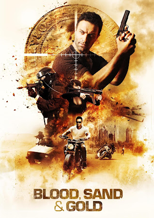 Poster Of Blood, Sand and Gold 2017 In Hindi Bluray 720P Free Download