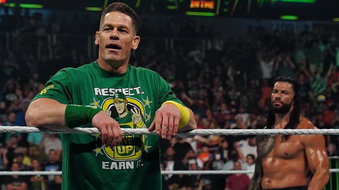 John Cena retorna no Money in the Bank para confrontar Roman Reigns