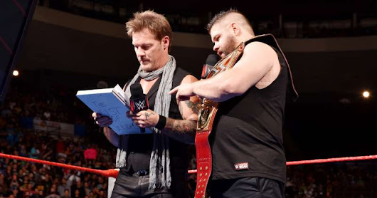 WWE Payback 2017 Matches: Jericho Reveals Real Kevin Owens on RAW