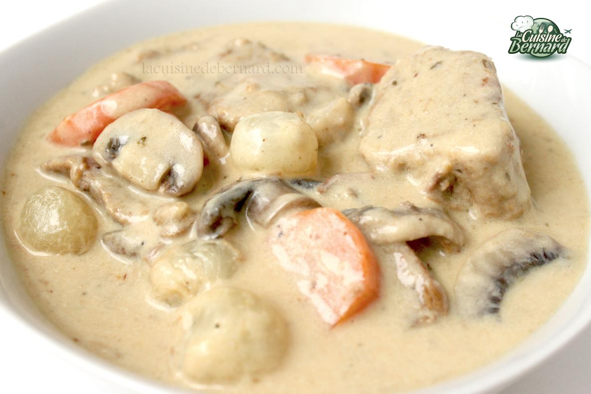 La cuisine de bernard blanquette de veau for Idee plat convivial pour 10 personnes