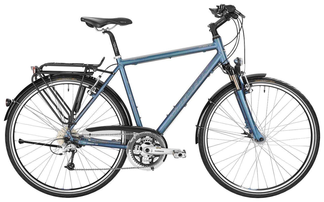 Fahrrad-Fahndung: STEVENS Primera Gents - Blaues Trekkingrad am 23.02 ...