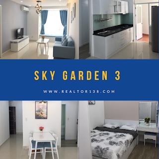 căn hộ 02 phòng ngủ chung cư sky garden 3 phú mỹ hưng