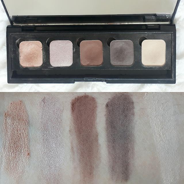 Paleta de Sombras 5 cores - Basic Nude