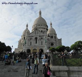 Sacre Coeur. Montmartre. Paris