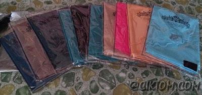 Hasil tangkapan plain wide shawl baru-baru ni