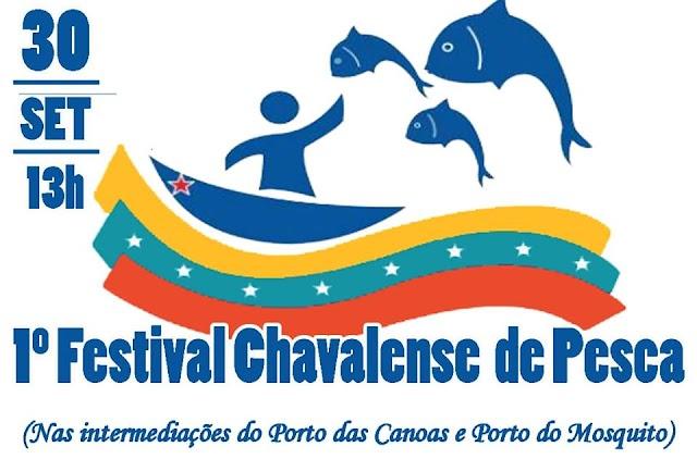 1º Festival Chavalense de Pesca acontecerá nesse sábado, dia 30