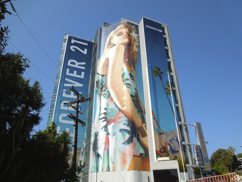 Forever 21 Coachella collection sky ferreira billboard