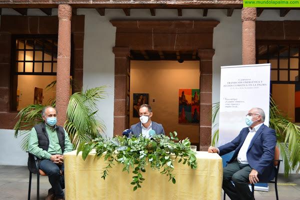 La Palma acoge la cuarta edición de las jornadas sobre transición energética y acción climática