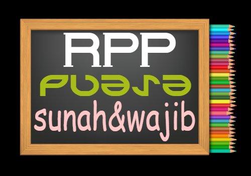 RPP PAI Kelas 7 Semester 2 Tahun 2020/2021, Materi Puasa Sunah dan Puasa Wajib
