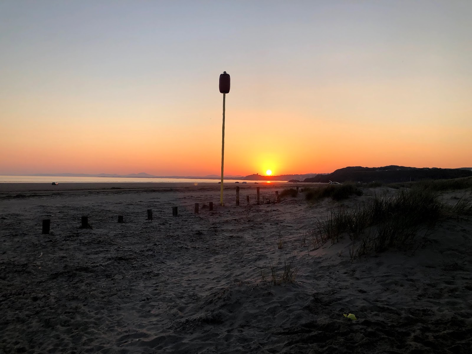 blackrock sands beach sunset